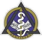 Dental Caduceus Dentist Stickers Decals