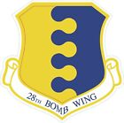US Air Force USAF28th Bomb Wing Decal / Sticker