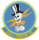 US Air Force USAF 310th Fighter Squadron Decal / Sticker