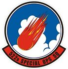 US Air Force USAF 522nd Special Ops Squadron Decal / Sticker