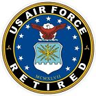 US Air Force USAF Retired Decal / Sticker
