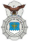US Air Force USAF Security Forces Decal / Sticker