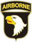 U.S. Army 101st Airborne Division CSIB Decal / Sticker