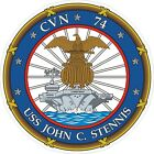 USS John C. Stennis Decal / Sticker