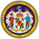 Maryland State Seal 1 Decals / Stickers