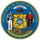 Wisconsin State Seal Decals / Stickers
