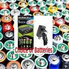 Used, Duracell Fast 1 Hour Universal Battery Charger EU PLUG AAA AA C D & 9V Batteries for sale  United Kingdom