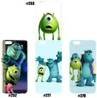 Cute Disney Monster Inc University Pattern Case Cover For iPhone 5c 5s 6 6 Plus