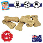 5KG IMMUNITY BOOST WHOLEMEAL FLAXSEED BISCUIT HEALTHY GARLIC INFUSED DOG TREATS