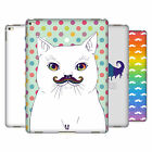 HEAD CASE DESIGNS BIGOTE DE ARCO IRIS CASO DURO TRASERO PARA APPLE iPAD PRO