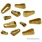Various 14ct Yellow Gold Filled Pendant Bail Snap Bails Findings BEADINGSTORE