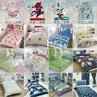 DISNEY & CHARACTER JUNIOR TODDLER DUVET COVER SETS CARS, PEPPA, THOMAS + MORE