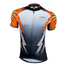 Mens Cycling Jersey Bicycle Wear Top Breathable T-shirt Outdoor Biking Clothing