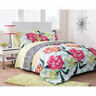 Girls Bedding Set Twin Comforter Sheets Floral Reversible Teen Bed In a Bag New