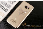 Luxury Bling Dew Austria Crystal Clear Cover Case For Samsung Galaxy S7/S7 EDGE