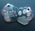 Deep Engraved Animal Dog and Cat Identity Collar Name Disc/Disk Coloured Tags !!