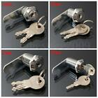 16/20/25/30mm Cam Lock Pinball Arcade Machine Door Cabinet Toolbox Drawer & 2Key