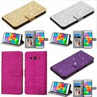 for Samsung Galaxy Grand Go Prime Bling Wallet Flip Case Card Phone Cover