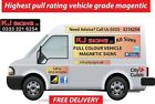Custom made Full Colour Van & Car Signs Strongest Vehicle Grade Magnetic Sheet