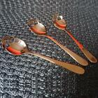 New Stainless Steel Skull Shape Coffee Sugar Spoon Dessert Gothic Spoons Tools H