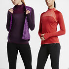 Nike Women's Performance Running Neck Zip Jogging Running Casual Sweatshirt Top