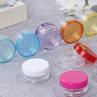 10Pcs 5ml Cosmetic Empty Jar Pot Eyeshadow Makeup Face Cream Container Bottle  L