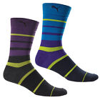 New PUMA Multi Stripe Men's Golf Socks (Shoe Size 6-12.5) - 1 Pair Pick Color