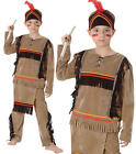 Childrens Kids Native American Fancy Dress Costume Native Wild West Outfit S