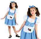 Childrens Fairy Tale Girl Fancy Dress Costume Alice In Wonderland Outfit M