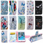 Magnetic Flip Wallet ID Card Slots Holder PU Leather Stand Case Cover For Phones