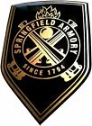 Springfield Armory Vinyl Decal Sticker For Gun   Case   Gun Safe   Car
