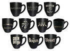 Stoneware Mug: Led Zeppelin / Beatles / Iron Maiden / Pink Floyd / AC/DC - New