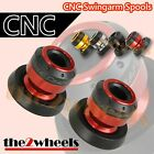 Aluminium Tobor Swingarm Spools Sliders M8 / 8mm for BMW S1000RR / S1000R / HP4