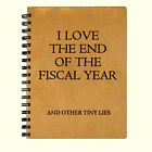 Funny Blank Writing Journal Diary Notebook - Accounting Journal - 5 x 7 inch