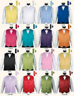 Men's Tuxedo Vest 4 Piece Set #004 - Vest with Bow Tie Hanky