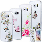 SLIM TPU CASE STRASS SCINTILLANTS TRANSPARENTE COQUE HOUSSE COVER MOTIF SAMSUNG