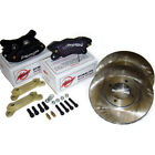 Wilwood For BMW 3 Series E30 Brake Kit Dynalite 4 Pot Calipers