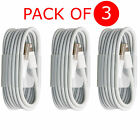 3X 1M 2M 3M EXTRA LONG USB DATA SYNC CHARGE CABLE FOR APPLE IPHONE 7 6 PLUS 5/5S