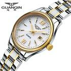 Women's Wristwatch Stainless Steel Date Gift Box GUANQIN Watch GQ80019-1A O6W8