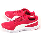 Puma Flexracer Rose Red-White Sportstyle Breathable Running Shoes 360580 06