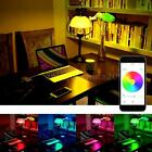 7.5W 600LM E26/E27 LED Bluetooth Bulb Light Smart RGB Warm White App Indoor O3Z8