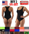 Women Slim Seamless Spandex Bodysuit Shapewear Underwear Leotard Bodycon Thong