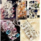 Cute 3D Bling Crystal Diamonds Rhinestone Hard Back Case Cover For Various Phone