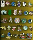 Pixar WallE Nemo Dory Boo Laugh Floor UP Bolt Monsters Inc Splendid Disney Pin