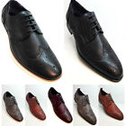 NEW MEN'S SHOES Lace Up Fashion Designer Wedding High Quality Size 6 7 8 9 10 11