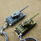Military Favourites Alloy Mini Tank Key Ring Silver Keychain Fans Creative Gift