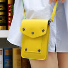 Fashion Girls PU Leather Messenger Crossbody Shoulder Bag Satchel Handbag Tote F