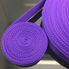 New 2 5 10 50 Yards Length 25mm 30mm 38mm Nylon Webbing Strapping Pick Color