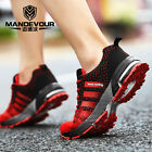 Mens Women Running Trainers Shock Absorbing Sports Fitness Shoes Size uk3.5-uk9