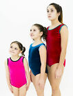 girls gymnastics dance sleeveless- short sleeved podium price leotard- velour